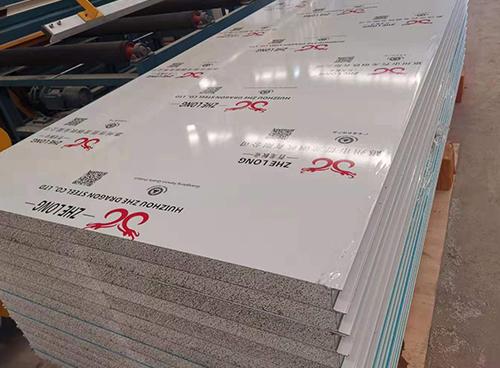 生产硅岩夹芯板